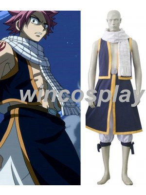 Fairy Tail Natsu Dragneel Cosplay Costume Wincosplay Online