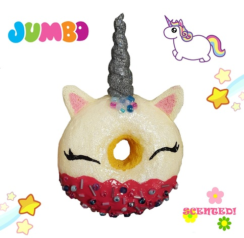 Squishy Donut Unicorn : Magical Unicorn Donut Squishy ? Squishy Morumotto ? Online Store Powered by Storenvy