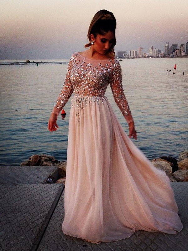 Prom Dress With Sleeves Prom Dressesgraduation Party Dresses Prom