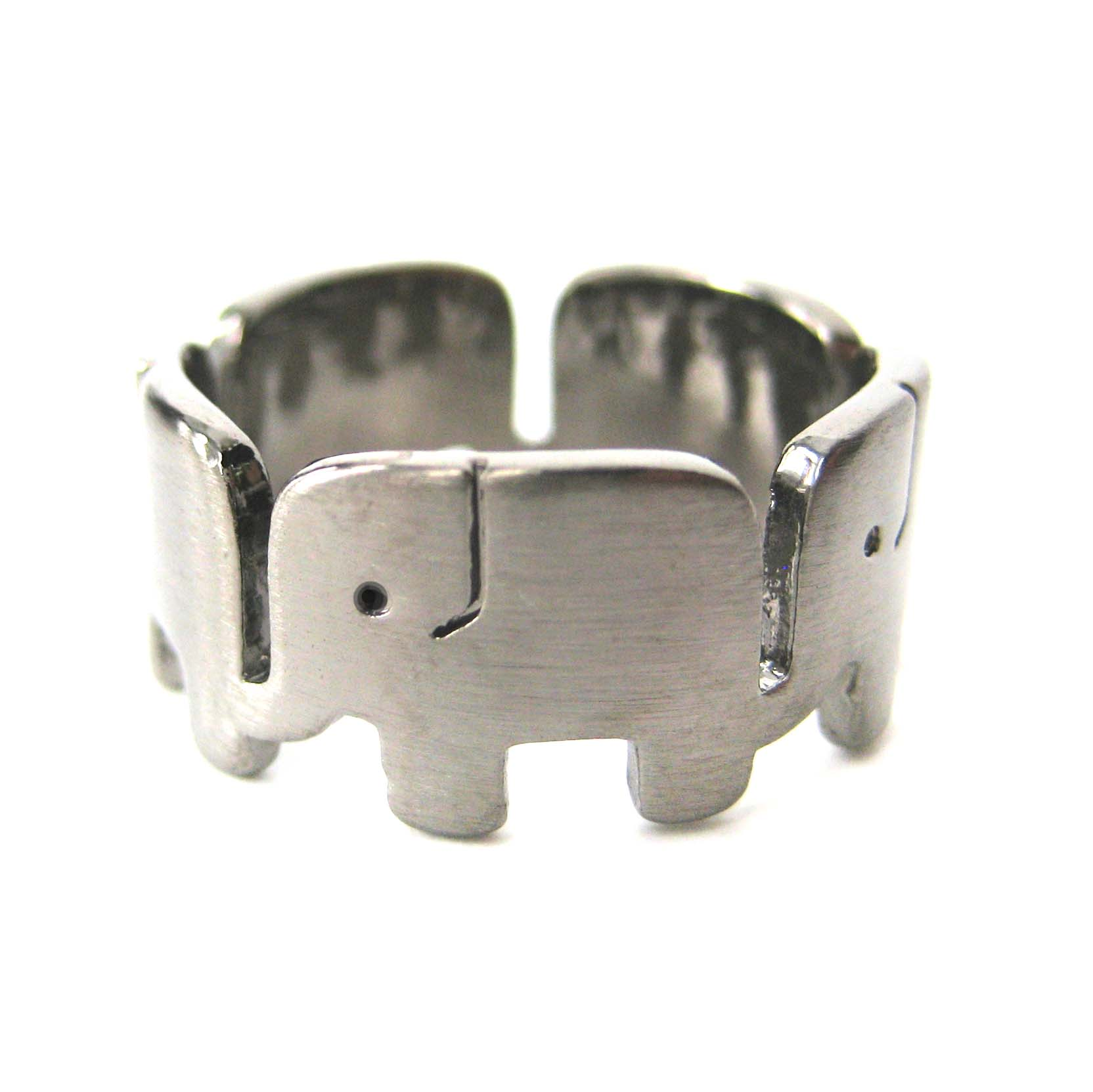 Elephant-family-parade-animal-ring-in-gunmetal-silver-us-size-6-to-8-available_original