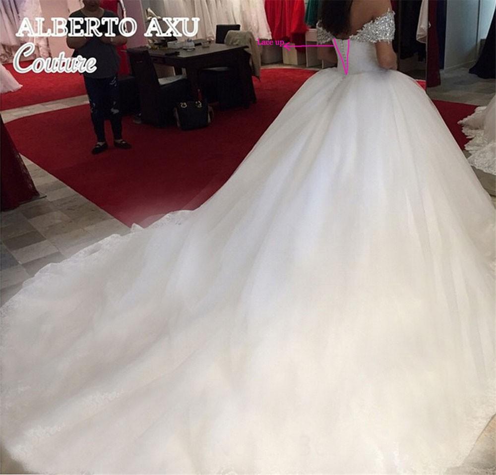 Princess Wedding Dresses With Long Train,Dresses For Brides,Bridal ...