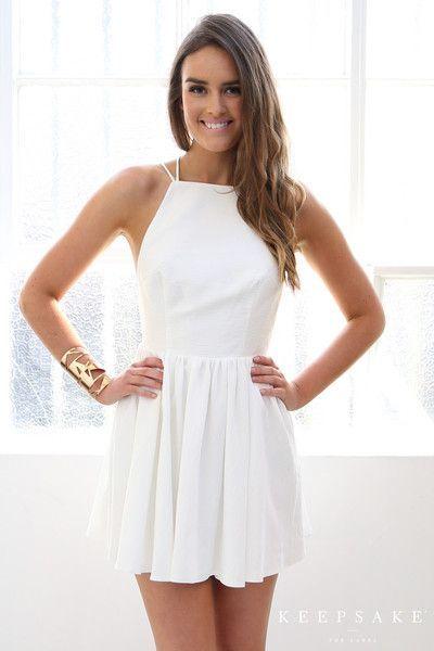 White Homecoming Dresses2018 Dressesshort