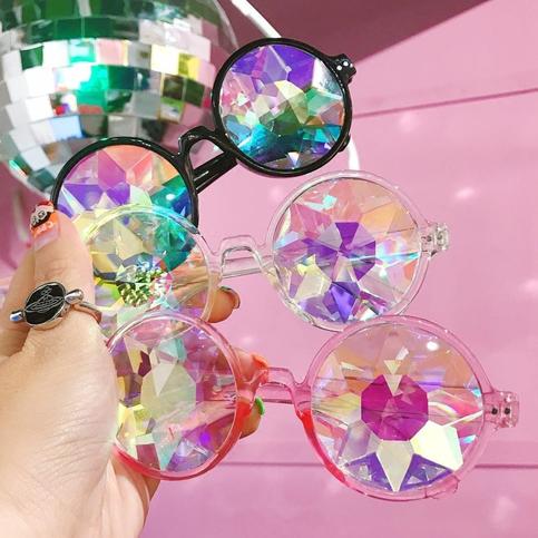 harajuku fashion diamond cutting sunglasses · fashion