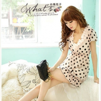 Vestido Lunares / Dots Dress DW248