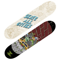 UTAH & ETHER x Skate All Cities (Skateboard Decks)