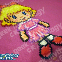 Paula - Nintendo Earthbound Mother 2 Chibishou Bead Sprite