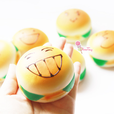 JUMBO Emoticon Toast Squishies (scented) ? Uber Tiny ? Online Store Powered by Storenvy