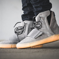 ADIDAS YEEZY 750 BOOST Color  Light Grey Light Grey Gum Style Code  ... 5f7bba260