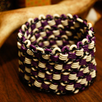 Spiral Swarm Stretchy Chainmaille Bangle