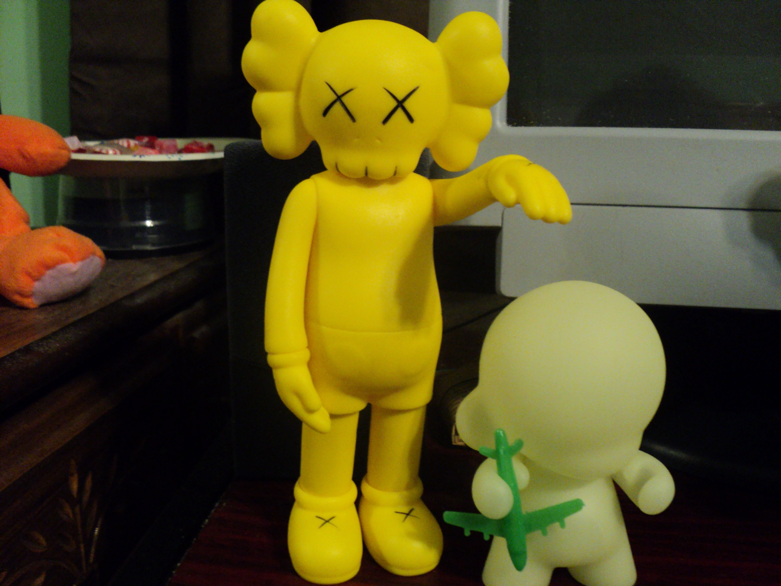 Dilly Jean Custom Toys Art KAWS Companion Yellow Factory - Pages invoice templates free kaws online store