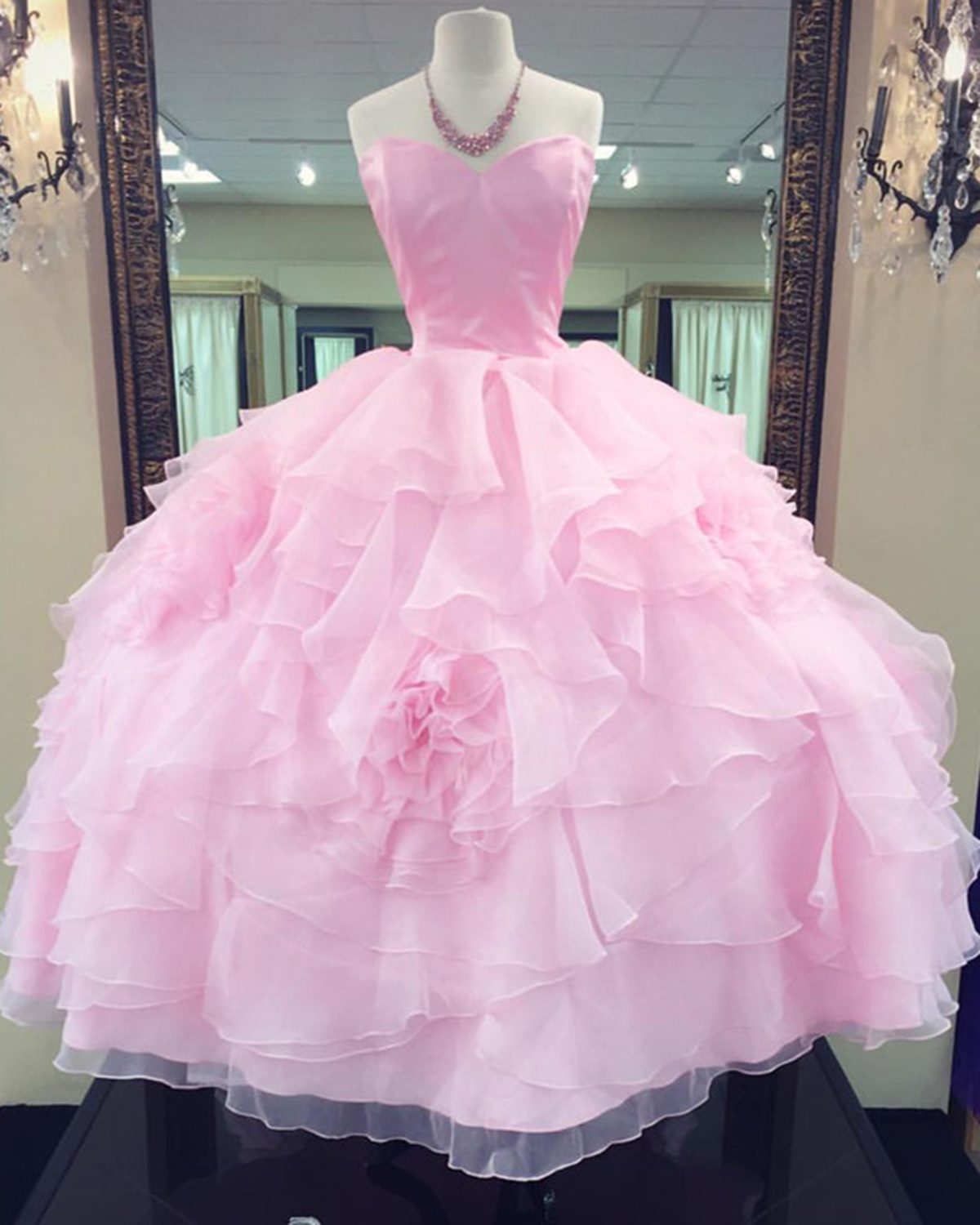 Cheap Prom Dresses by SweetheartDress · Princess pink tulle long ...