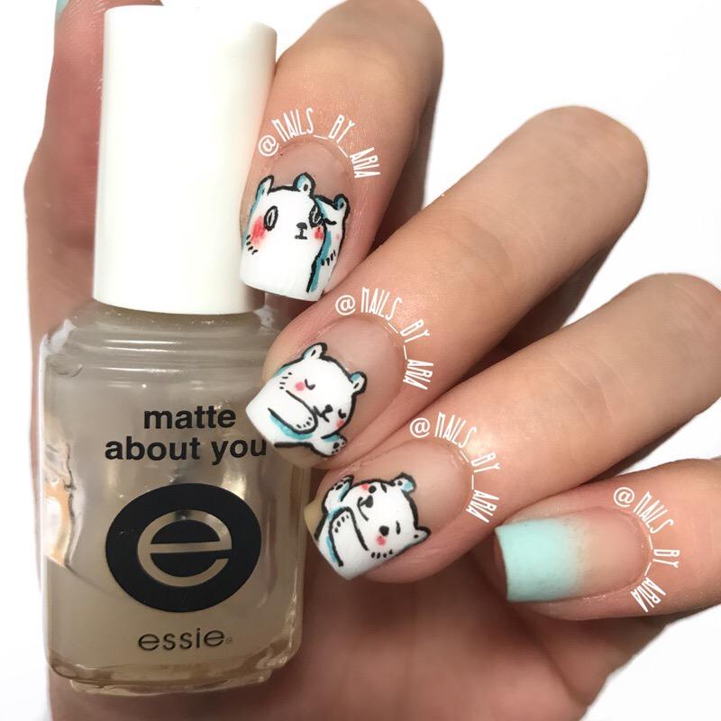 Bac Bac\'s Diary Homemade Nail Stickers (12 styles) · Aria\'s Market ...