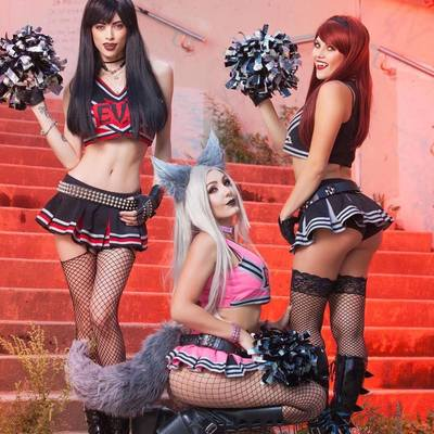 Evil cheerleaders 3 (11x17 signed print) proceeds go to charity