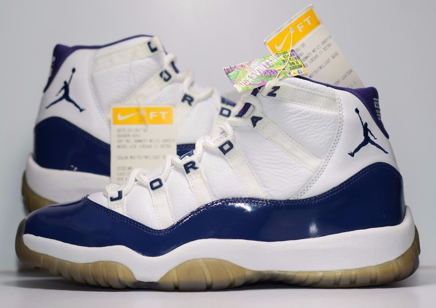 online store 76c9d b51d2 Size 9   2000 Nike Air Jordan XI PROMO SAMPLE 1 of 1 Twilight Blue Gum
