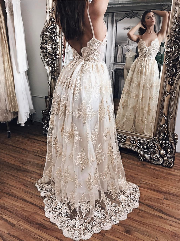 Sexy Prom Dresses,Lace Prom Dresses,Evening Gowns,Women Dresses,Backless  Prom Dresses,V Neck Prom Dresses · Ulass · Online Store Powered By Storenvy