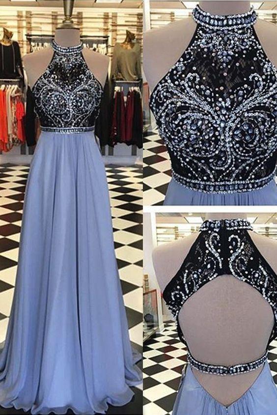 beaded prom dresses 2018
