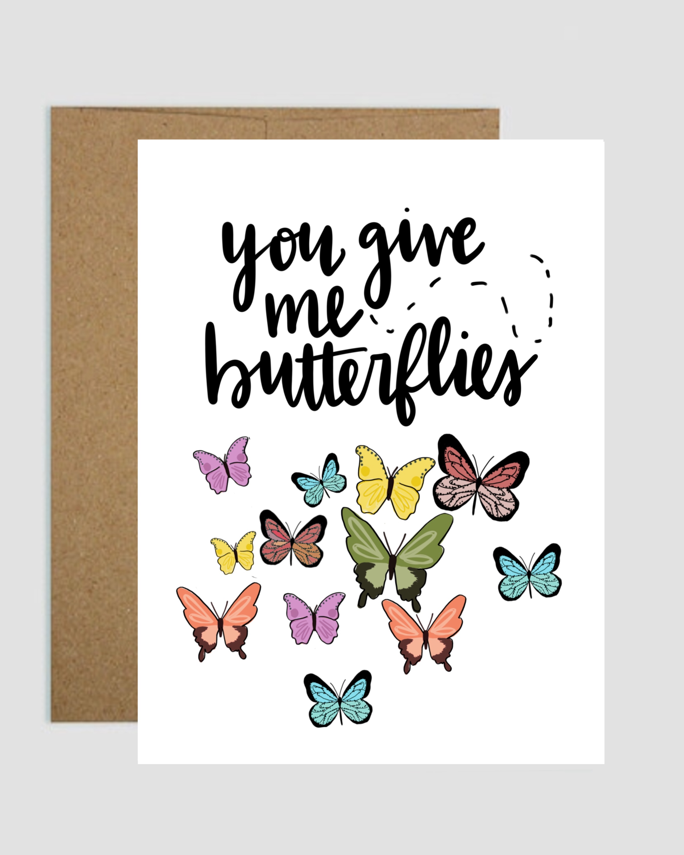 Butterfly Greeting Card Shop Kindyl Paris Online Store Powered