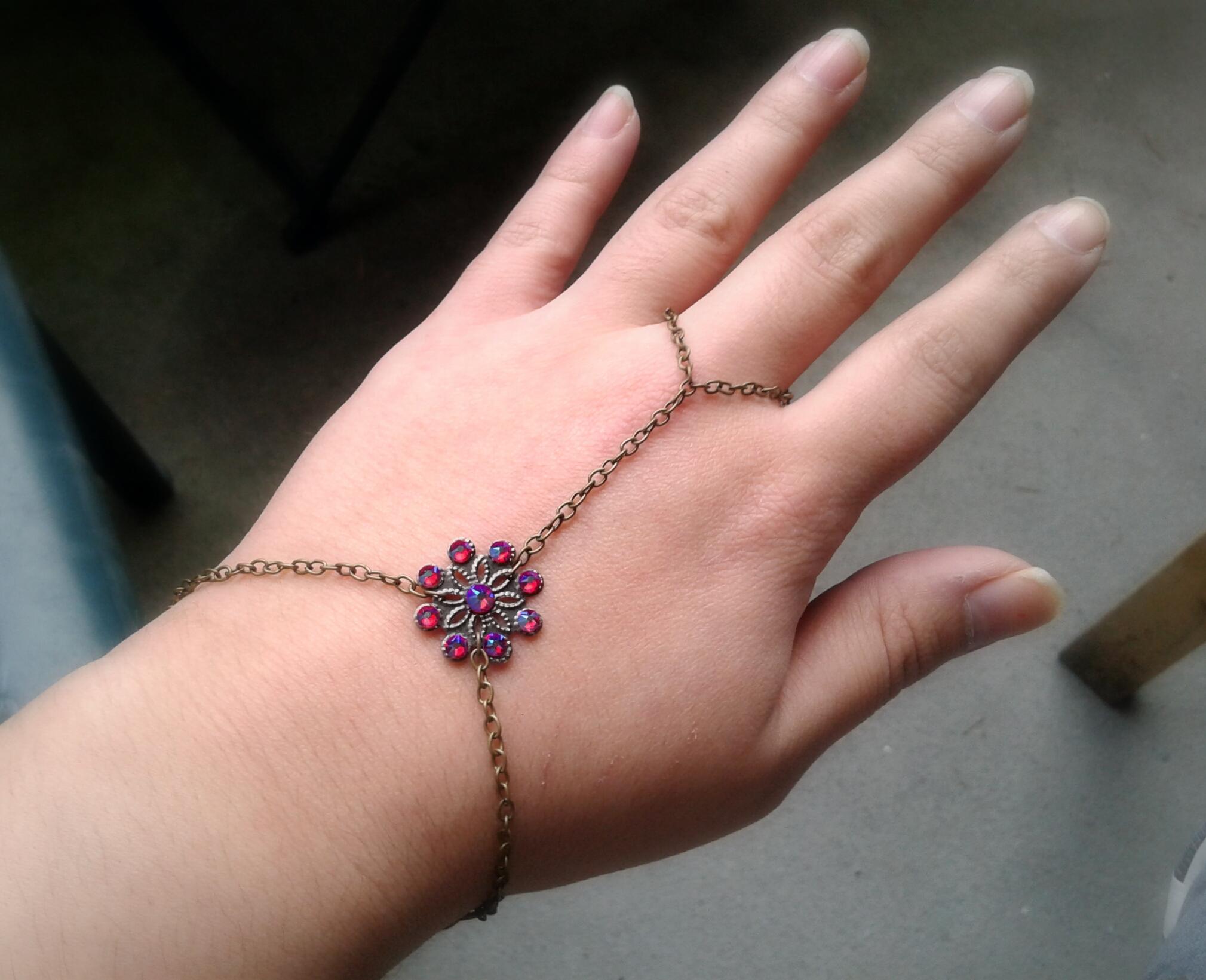 Slave Boho hand jewelry photo