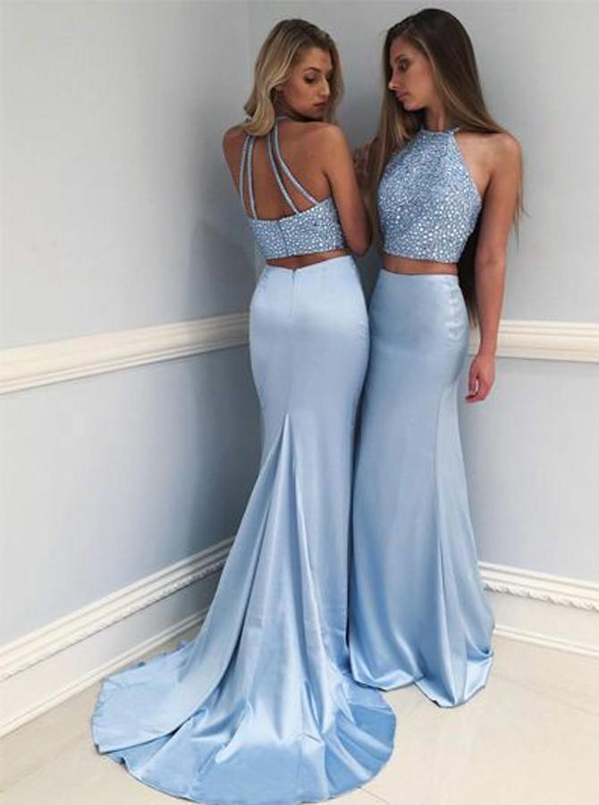 Blue Prom Dresses 2018