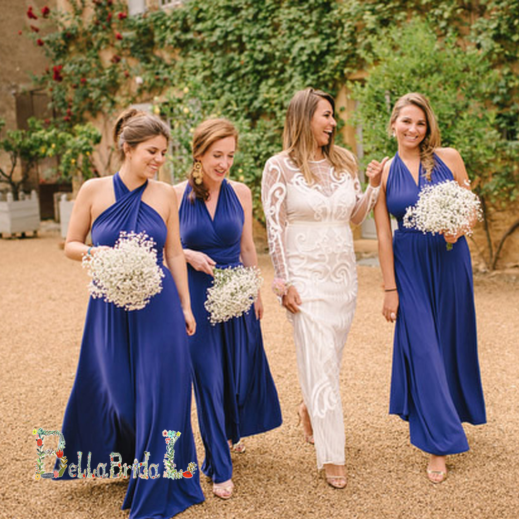 Royal blue bridesmaid dressesconvertible bridesmaid dressesjersey royal blue bridesmaid dressesconvertible bridesmaid dressesjersey bridesmaid dressessimple bridesmaid dresses ombrellifo Images