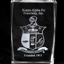 Kappa Alpha Psi Crystal Coat of Arms