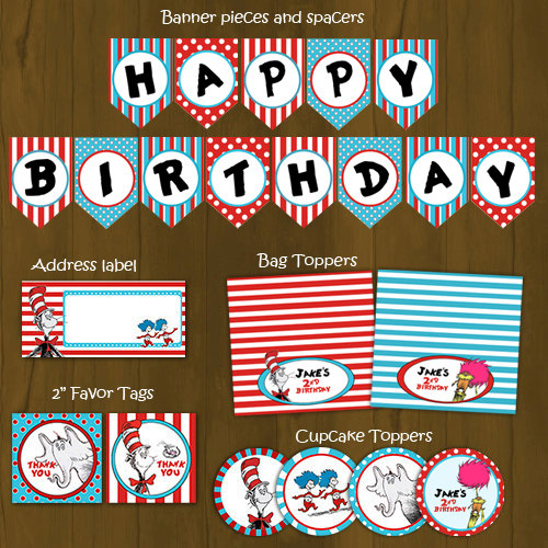 printable party decorations free