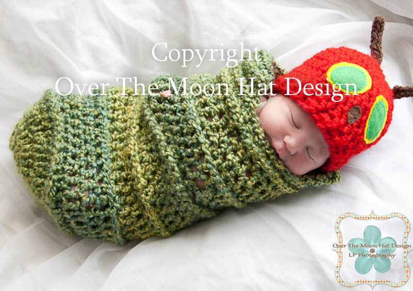 Crochet Caterpillar Baby Outfit Pattern : Image Gallery hungry caterpillar cocoon