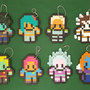 Virus Fighting Gamer Keychains - Thumbnail 1