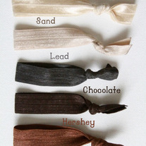 The Neutral Set- Set of 6 No-Crease Hair Ties