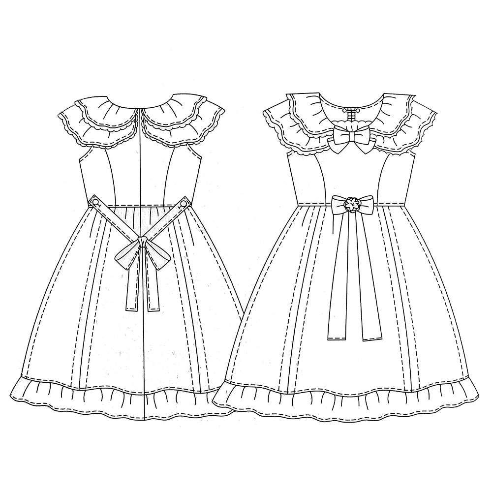 1102 One Piece · Lolita Sewing Patterns · Online Store Powered by ...
