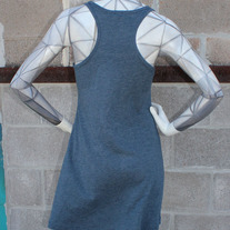 Geometric Fish Racerback Dress medium photo