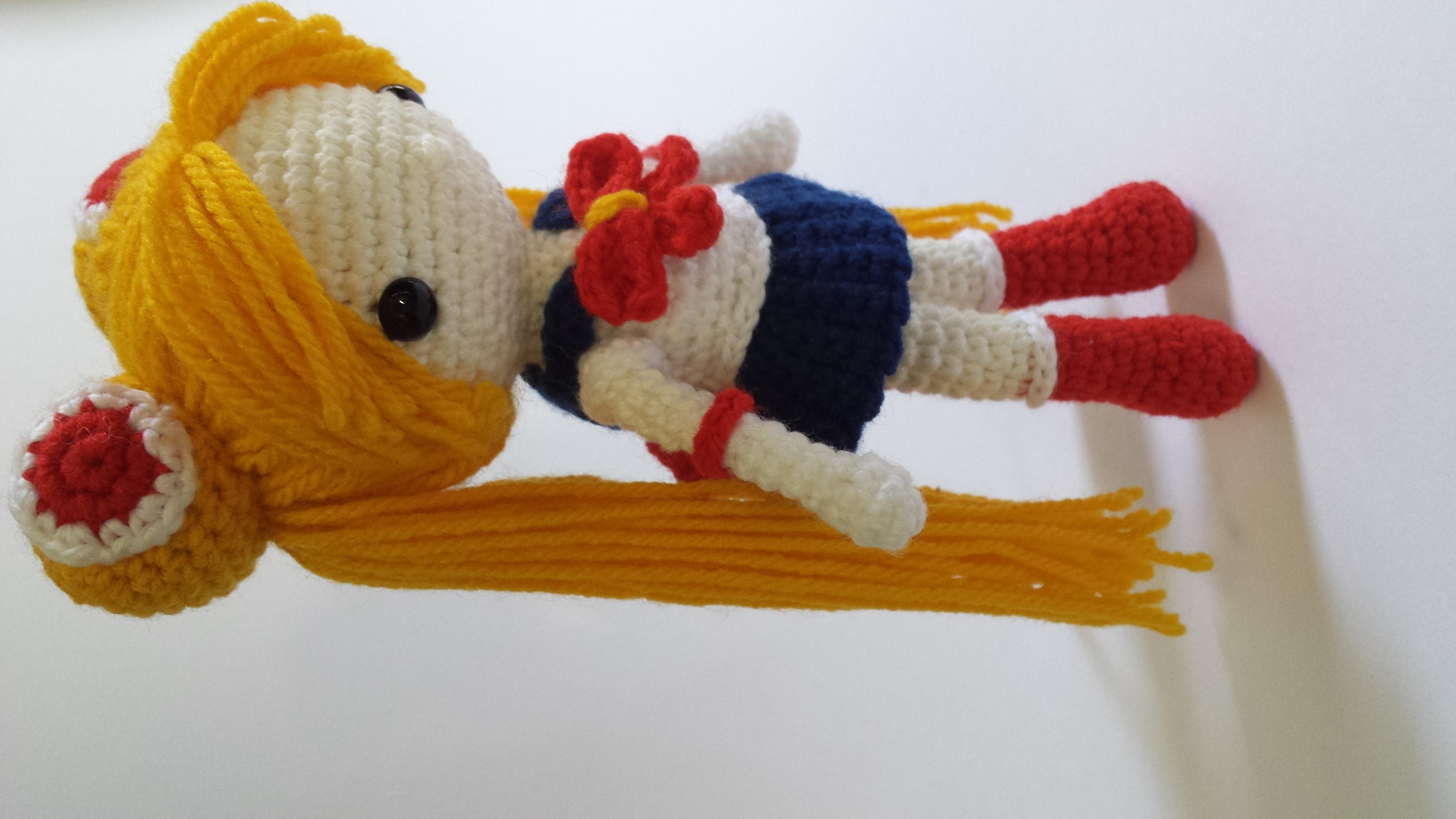 Sailor Moon Usagi Amigurumi Plush Mon Ami Designs Online Store