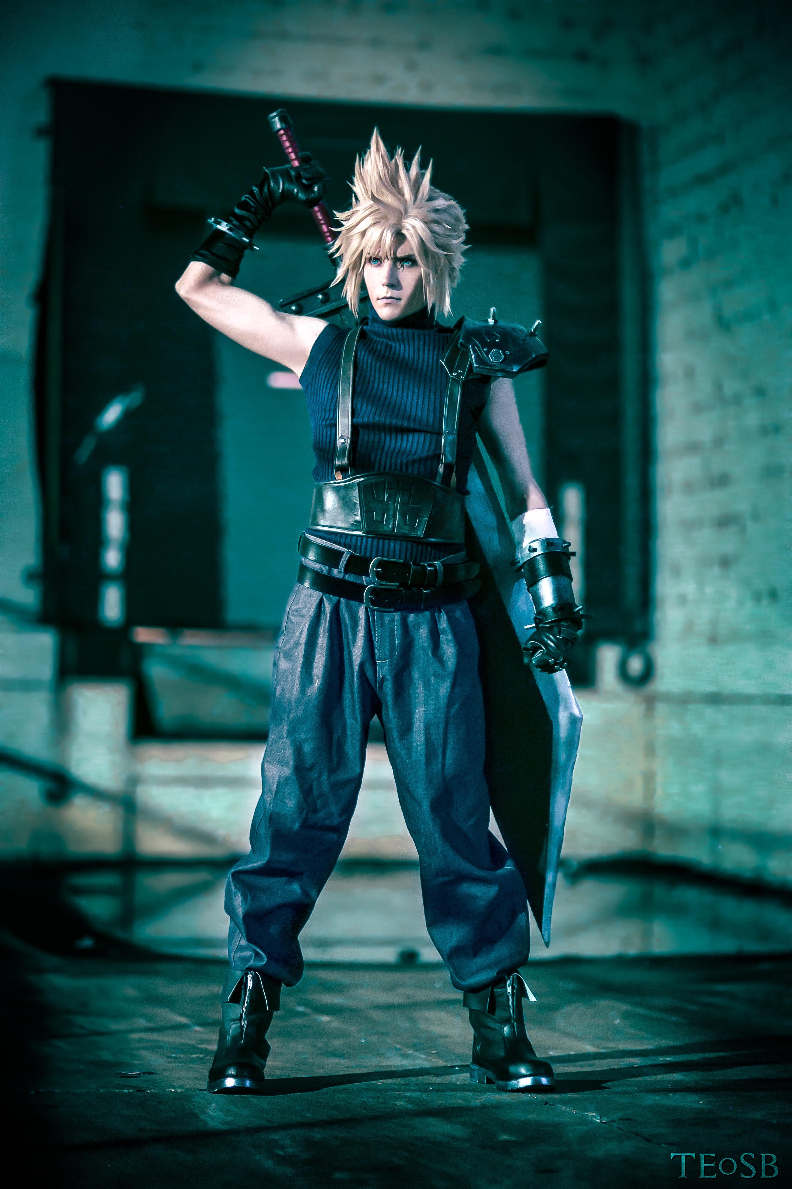 cloud strife final fantasy vii print online store powered by