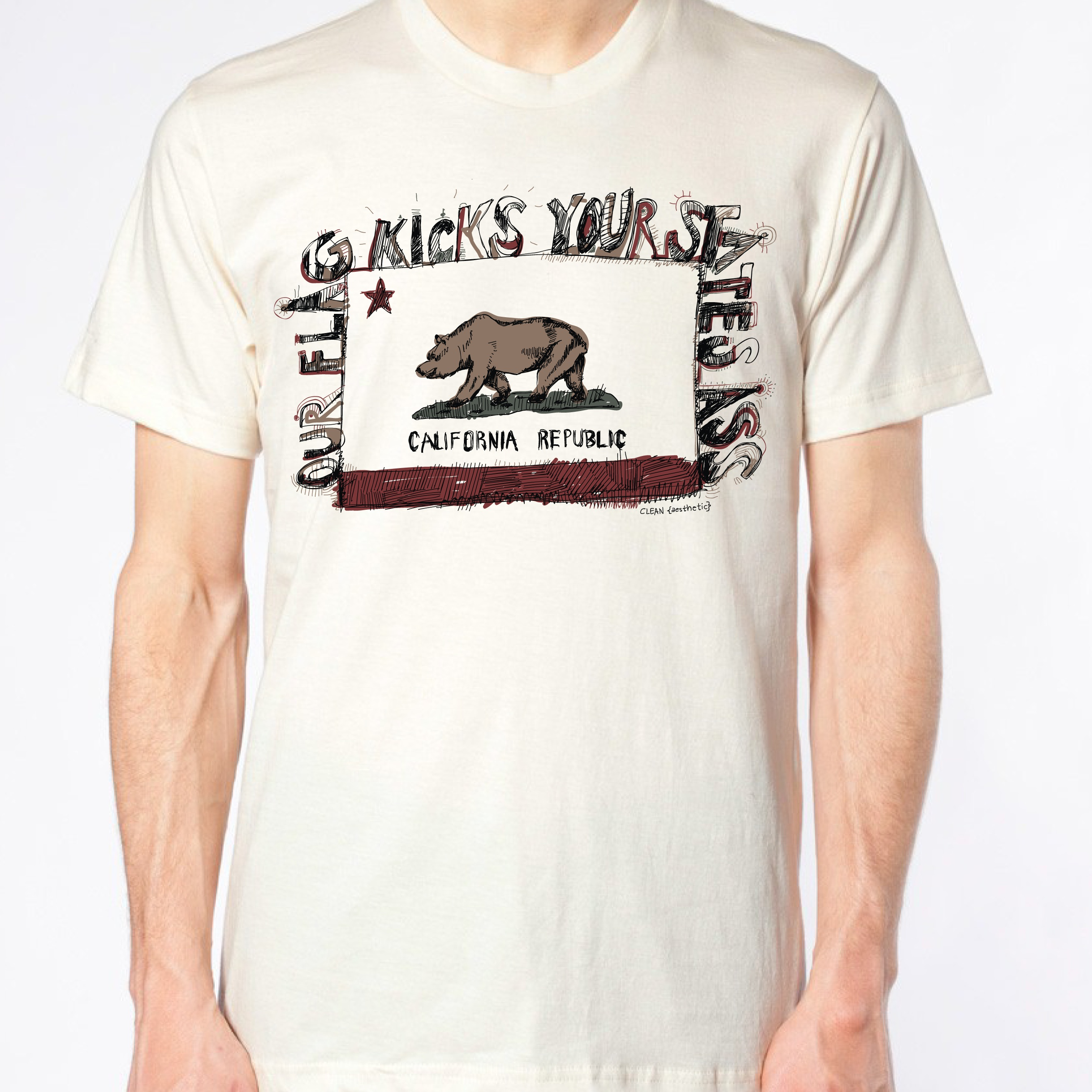 Californiakicksass_tee_original