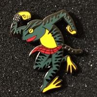 Skanking Frog Pin | Artist Series | Glenn Carvajal - Thumbnail 1