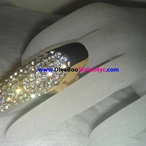 "Gold ""Ice Pick""Nail Ring"