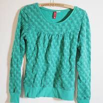 Green Pullover by H&M