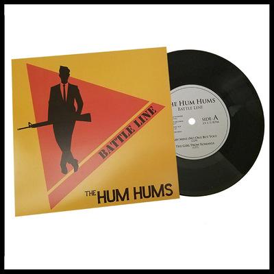 "7"": the hum hums ""battle line"""