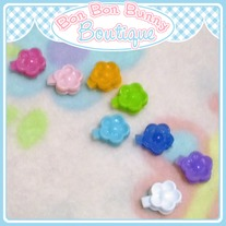 Tiny Treat Hair Clip - Flower B
