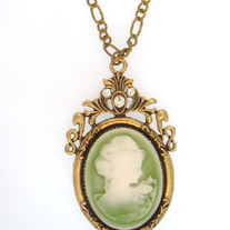 Antique Cameo Pendant