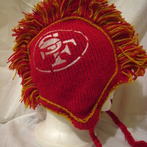 San Francisco 49ers Mohawk 100% Wool