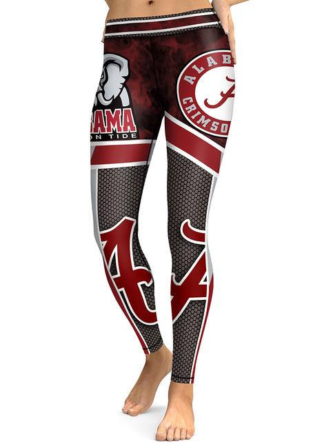 University Of Alabama Crimson Tide Leggings Yoga Pants