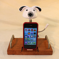 The Web Cam Dock - iPhone Dock - iPod Dock - Charger and Sync Station - Cute Cam with Mic