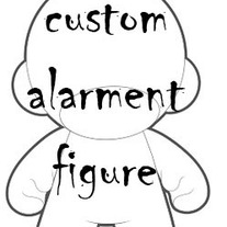"Large Custom Figure 7""-10"" (Munny, Dunny, Qee, other)"