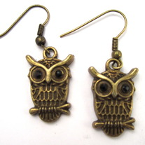 Anxious Owl Earrings