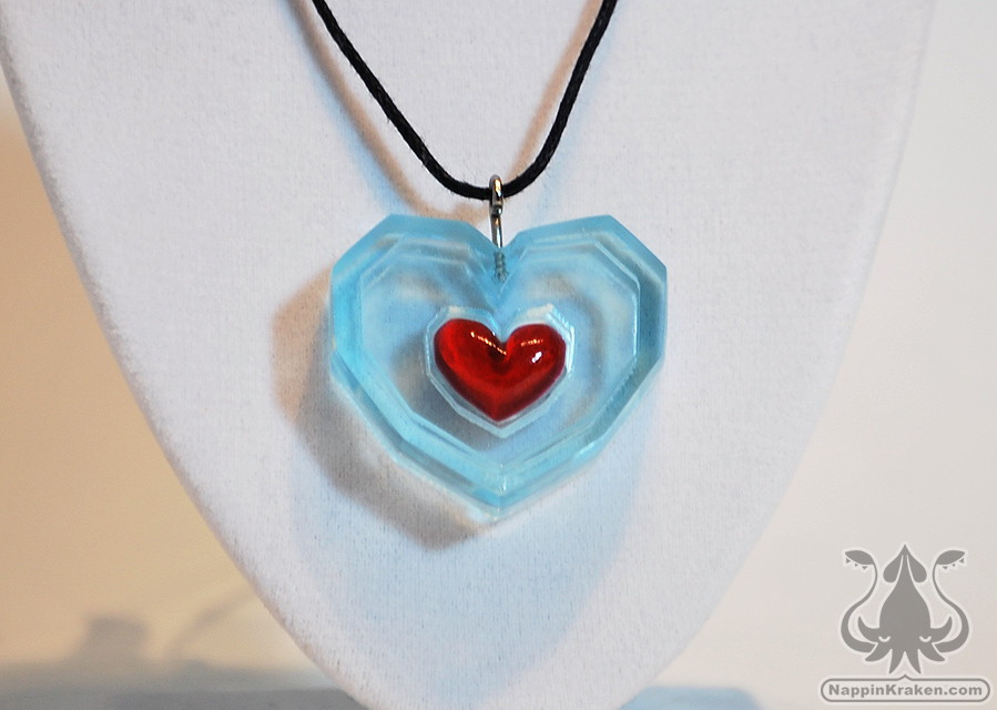 Nappin kraken crafts piece of heart pendant legend of zelda piece of heart pendant legend of zelda ocarina of time thumbnail 1 aloadofball Choice Image