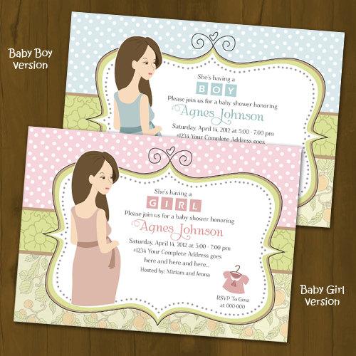 chic baby shower invitation shabby chic splashbox printables