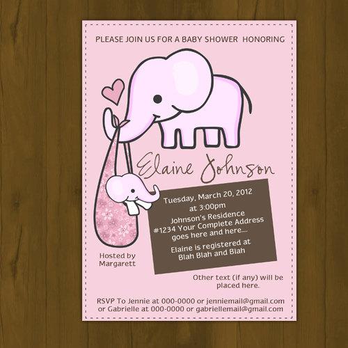 Elephant baby shower invitation splashbox printables online elephant baby shower invitation thumbnail 1 filmwisefo