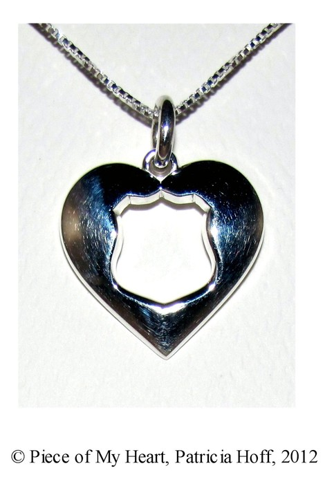 Blue Heart Digital Designs Quot Piece Of My Heart Quot Silver