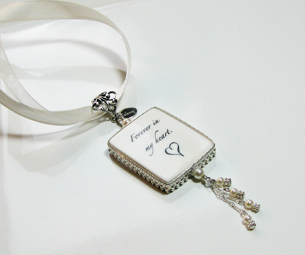 classic framed bridal bouquet memorial charm large fbc1cfa on